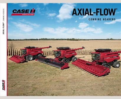 Axial Flow Combine Header Brochure
