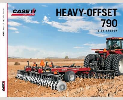 Heavy Offset 790 Disk Harrow