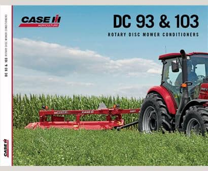 DC93 and 103 Mower Conditioner Brochure