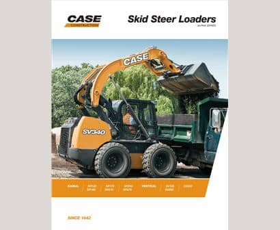 Skid Steer Loaders Brochure