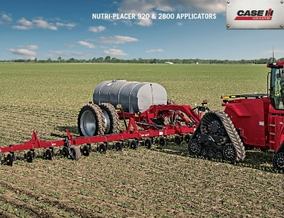 Nutri-Placer 920 and 2800 Applicators