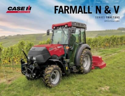Farmall N & V Spec Sheet
