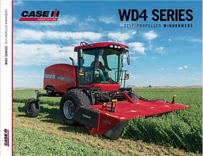 WD4 Series Windrower Brochure