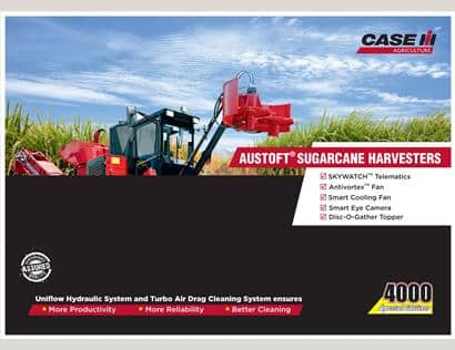 Austoft 4000 Sugarcane Harvesters Summary
