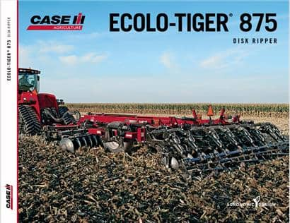 Ecolo-Tiger 875 Disk Ripper Brochure