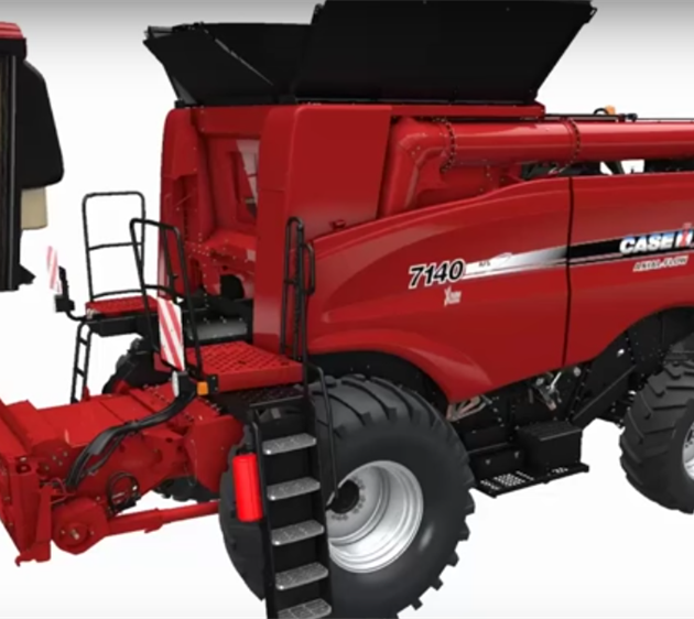 Case IH series Axial Flow 140