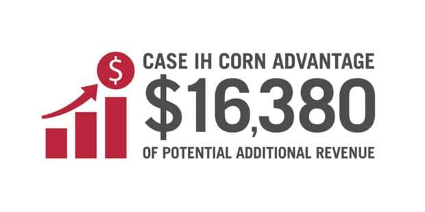 Case IH Corn Advantage<sup>1</sup>