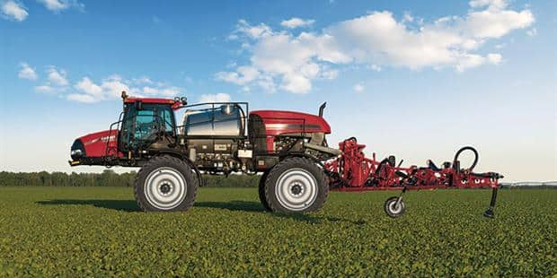 AFS AccuTurn™ Guidance Solutions on Patriot® Series Sprayers