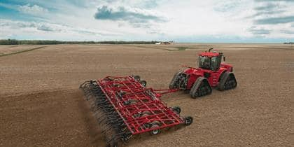 The New Vibra-Tine S-tine Field Cultivator