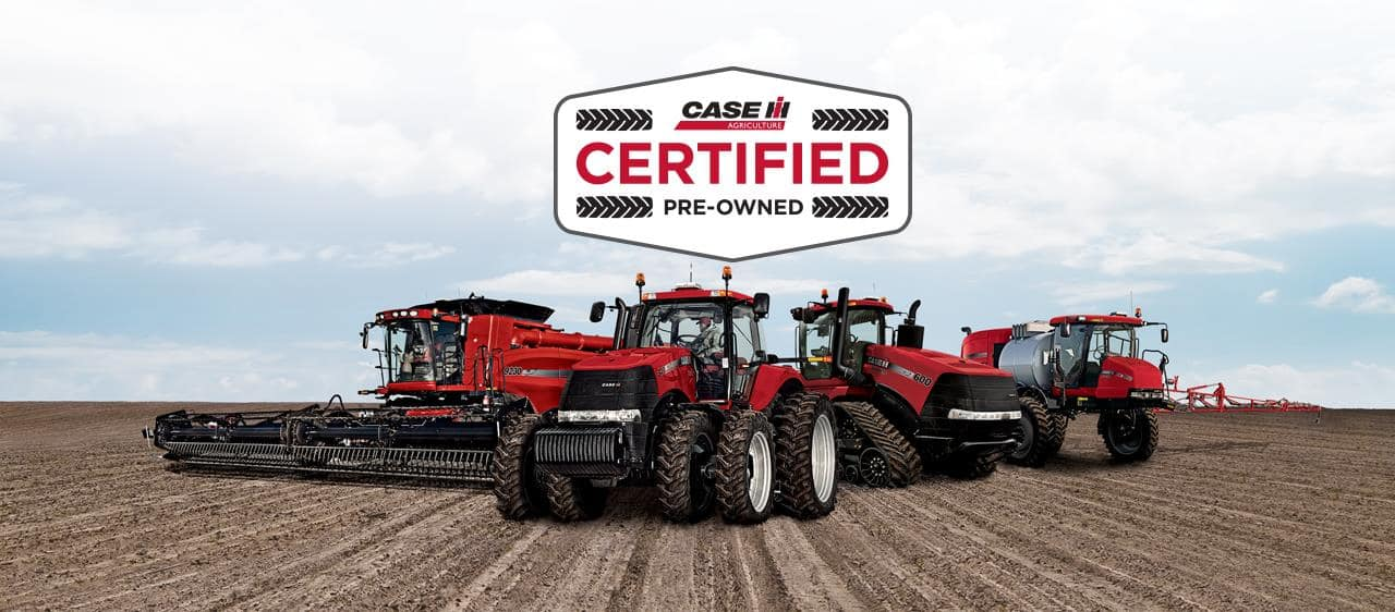 Case Tractor Showroom : Case ih certified pre owned