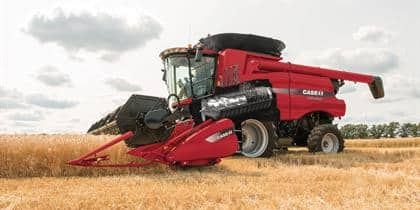 The Heart of Every Rotary Combine Beats Red.