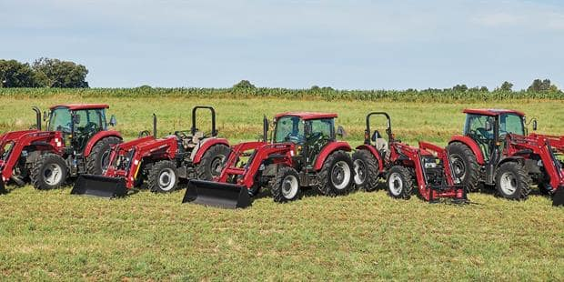 Reliable, Hardworking Farmall<sup>®</sup> Tractors