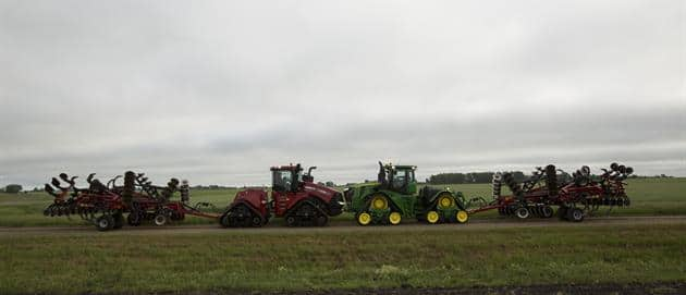 Steiger Quadtrac and John Deere 9RX