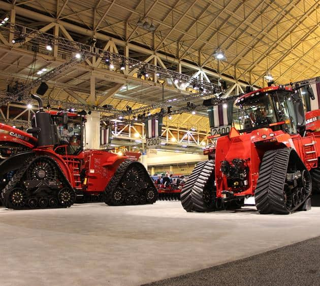Not one but two Steigers: a 470 Rowtrac and the 620 Quadtrac.