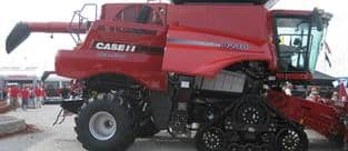 Case IH Axial-Flow Combine 9240 with Tracks.  Farm Progress Show 2015.