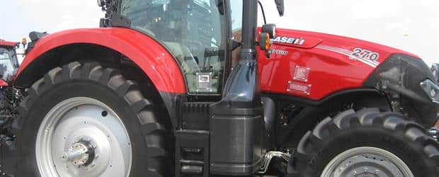 The new Case IH Optum 270 at the Farm Progress Show 2015.