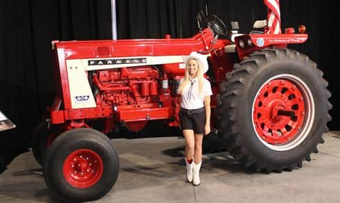 Case IH Brand Ambassador with a Farmall 806
