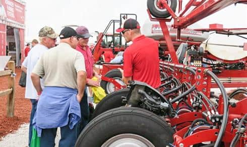 Case IH Product Experts on the lot at the Farm Progress Show
