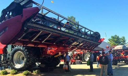Case IH 3162 Draper Head - Farm Science Review 2015