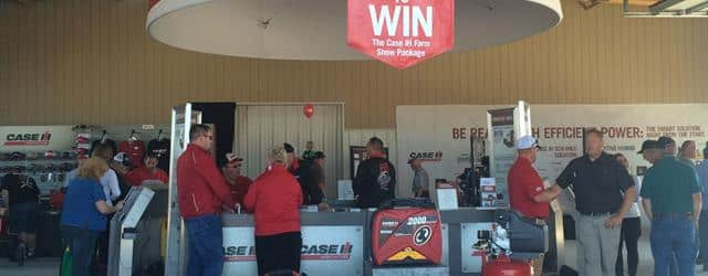 Case IH Leader of the Track - Farm Science Review 2015