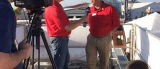 Husker Harvest 2015 - Jay Barth, Mkting Manager Magnum Tractors, interview with RFD-TV