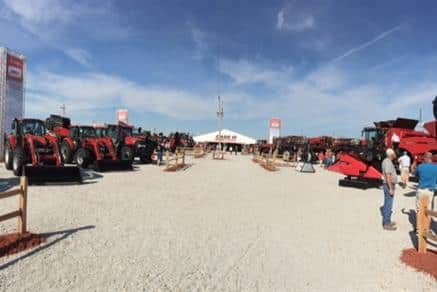Husker Harvest 2015 - Full line of Equipment on the Case IH lot