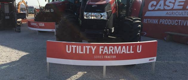 Utility Farmall U Tractor at 2017 Husker Harvest Days