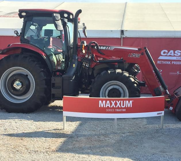 Maxxum Tractor at 2017 Husker Harvest Days