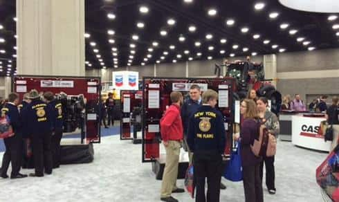 FPT Engine Displays at the 2015 National FFA Expo