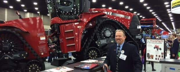 The Steiger 420 at the 2015 National FFA Expo