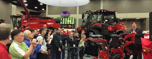 National Farm Machinery Show 2016 - Case IH VP Jim Walker Talks About the New 2000 Series Early Riser Planter