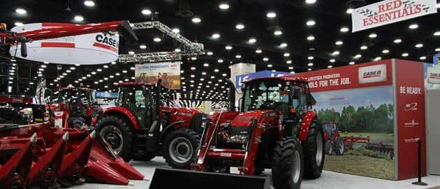 National Farm Machinery Show 2016 - Just a few tractors at the show