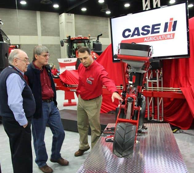 National Farm Machinery Show 2016 - Case IH staff on site to talk about the new Early Riser Planter
