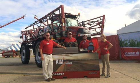 Sunbelt Ag Exp 2015 - Patriot 3240 Sprayer