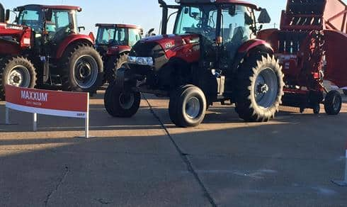 Case IH Maxxum 125 CVT at Sunbelt Ag Expo 2017