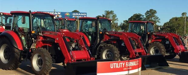 Utility Farmalls at Sunbelt Ag Expo 2017