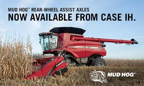 Power Through Harvest with Mud Hog® Rear-wheel Assist Axles
