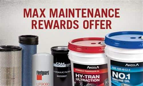 Max Maintenance Rewards