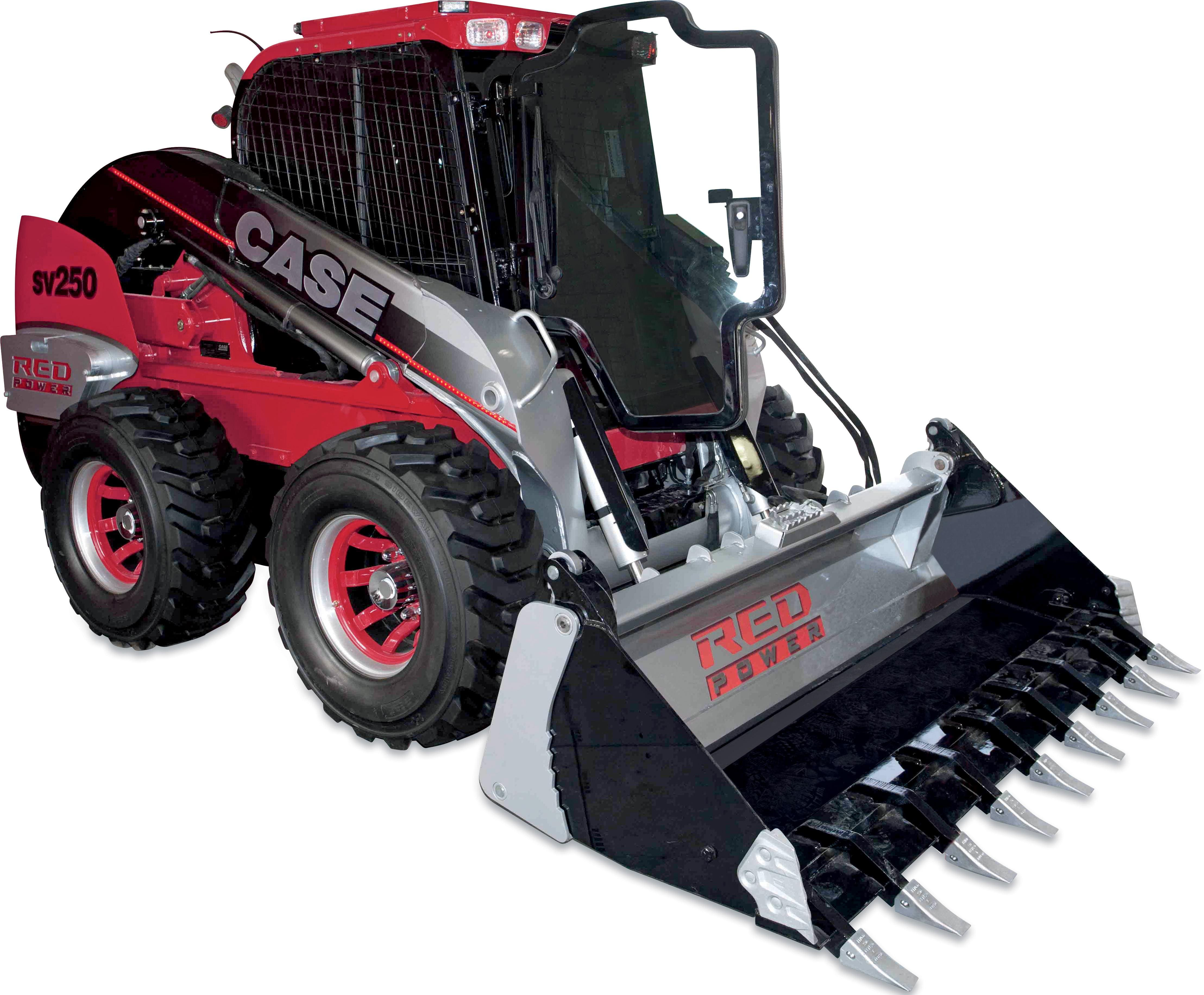 "Case IH ""Red Power"" Skid Steer Auction Opens to Support FFA"
