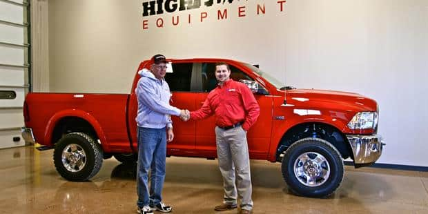 Case IH Awards Ram Truck in Field of Deals Sweepstakes