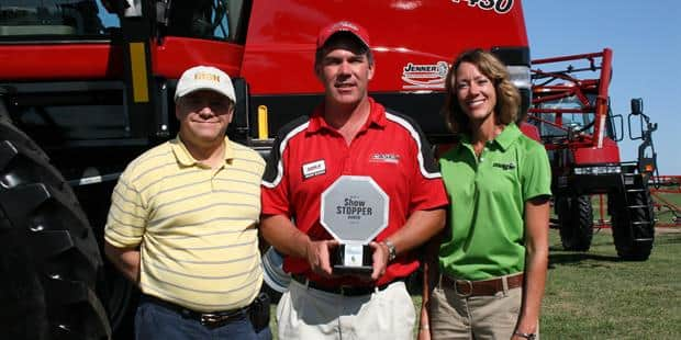 Case IH Patriot 4430 Sprayer Wins 2012 CropLife Iron ShowStopper Award At Midwest Ag Industries Exposition