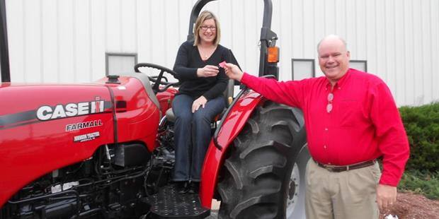 Wisconsin Agriculture Advocate Wins Case IH Tractor