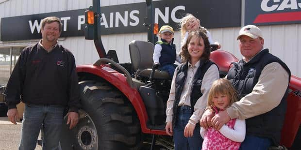 South Dakota Farmers Win A New Case IH Tractor