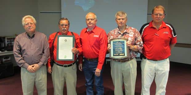 Case IH & GPTC Receive Honorary Citation for 20 Years of Custom Harvester Safety Training