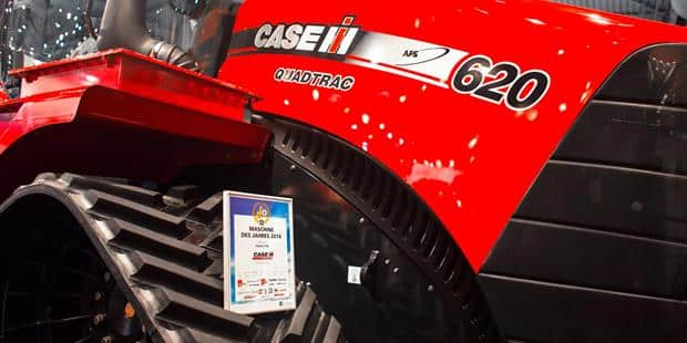 Case IH Quadtrac Awarded Machine of the Year 2014