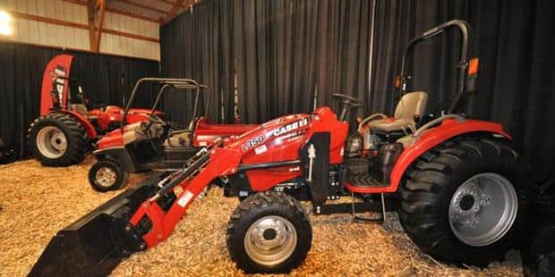 Case IH Donates Two Tractors, Front Loader, Utility Vehicle to New Urban Ag Program at MPS' Vincent High School