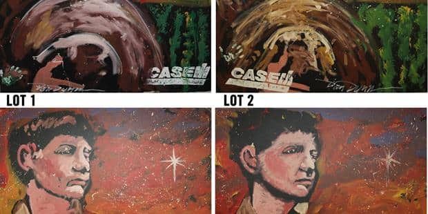 "Case IH Offers Local Bounty to Winning Bidders of Four ""Year of the Farmer"" Paintings"