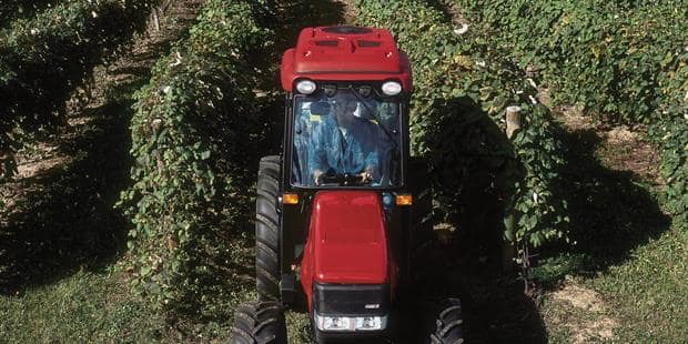 Case IH Introduces Farmall V Series Tractors, Perfectly Sized for Vineyards & Orchards