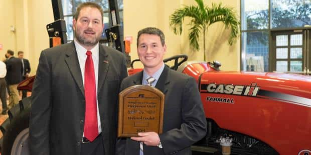 Illinois Farmer Wins Case IH Farmall Tractor