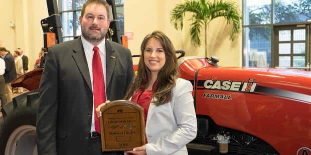 Maryland Farmer Wins Case IH Farmall Tractor